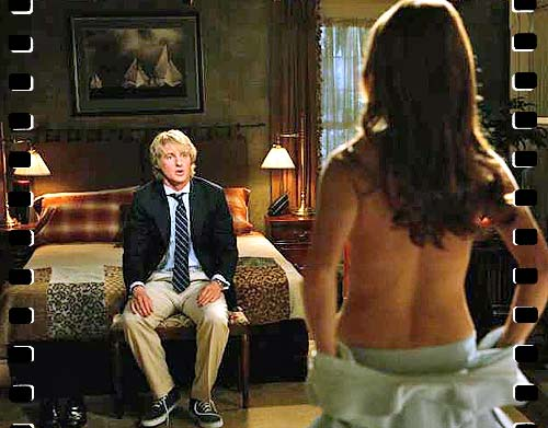 Nude scenes from wedding crashers